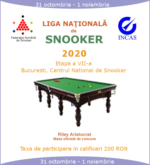Campionat National de Snooker 2020