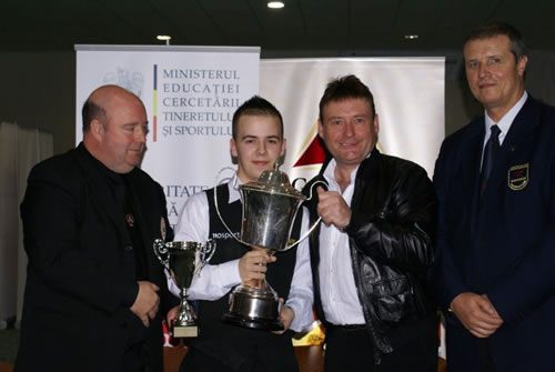 Luca Brecel - Campion European 2010